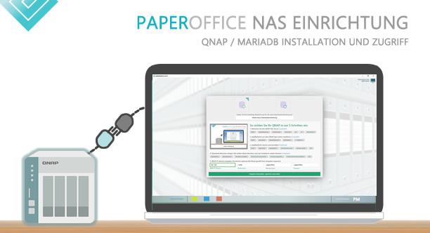 Dokumentenmanagement System PaperOffice ist die Komplettlösung: Dokumente archivieren und verwalten mit automatischer KI-basierter Dokumentenerkennung. Mit QNAP NAS ist es die ideale Kombination