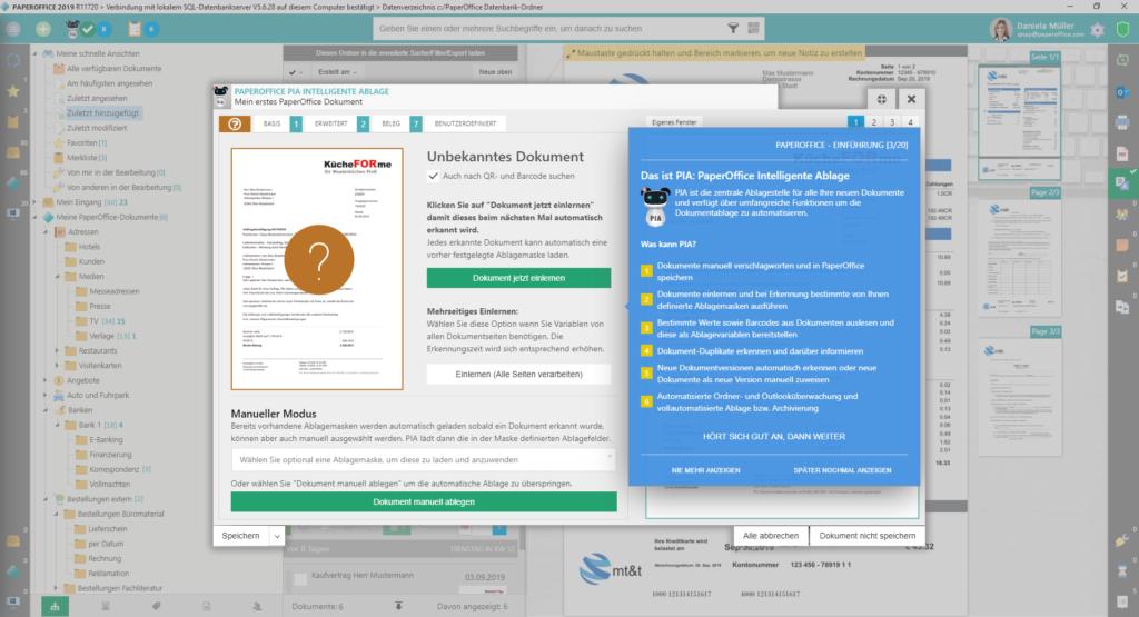 PaperOffice Intelligente Ablage- das ist die KI in PaperOffice DMS