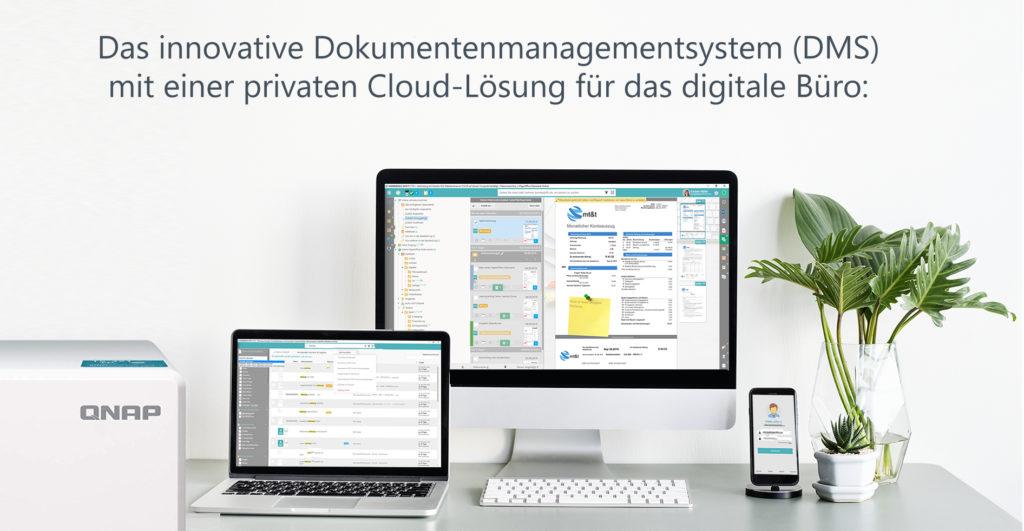 QNAP NAS als Datenbankserver für PaperOffice DMS - ideale Partnerschaft