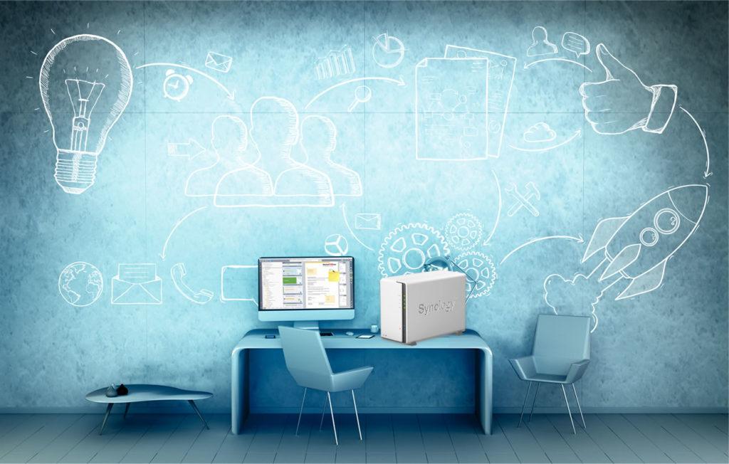 PaperOffice DMS und NAS von Synology