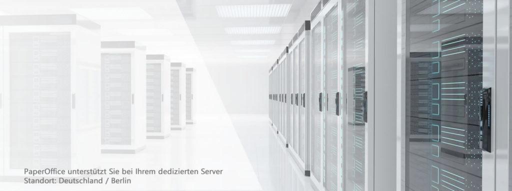 Dedizierter Server in Deutschland sorgt für Datensicherheit und papierloses Büro
